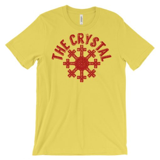 Snow Crystal T-Shirt Yellow