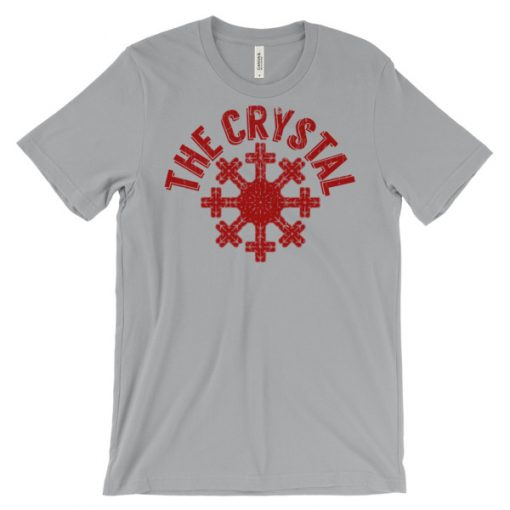 Snow Crystal T-Shirt Silver