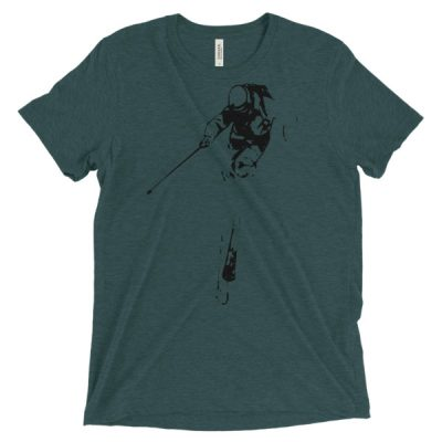 Unisex Le Ski T-Shirt Emerald