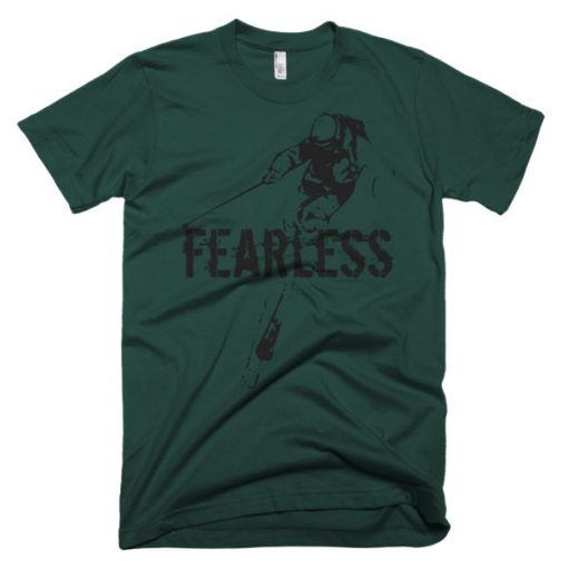 Fearless Men's Ski T-Shirt Forest