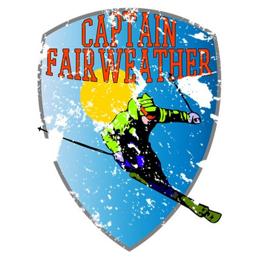 Fairweather Ski T-Shirt Design Close Up