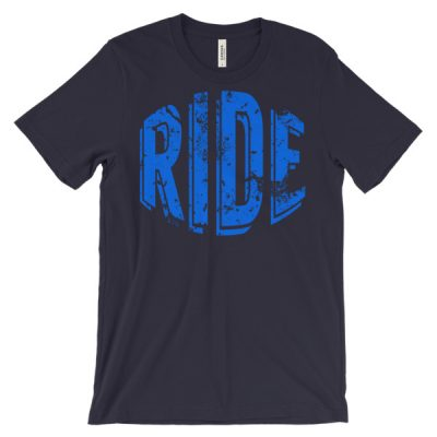 Unisex Ride T-Shirt Navy