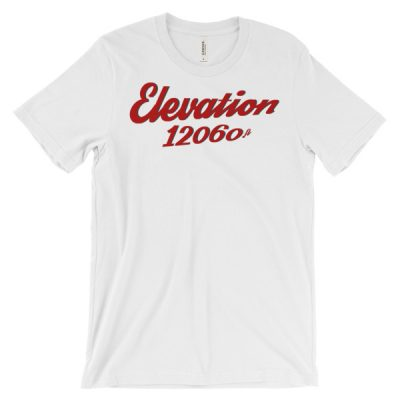 Elevation 12060 Ski Resort T-Shirt White