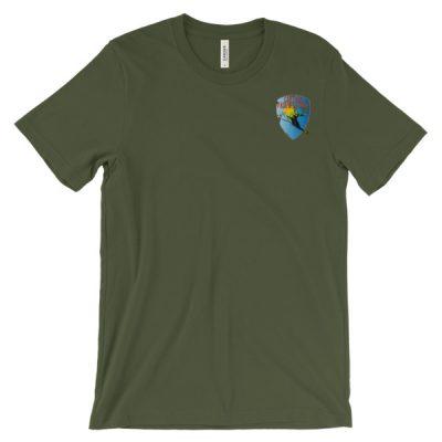 Unisex Short Sleeve Fairweather Ski T-Shirt Olive
