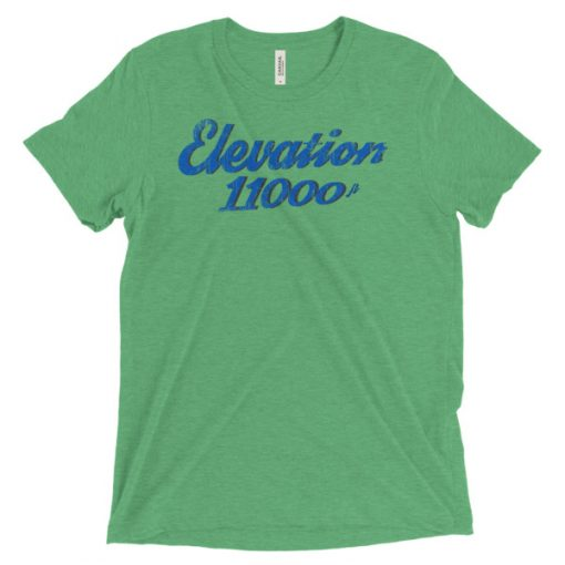 Elevation 11000 Snowbird T-Shirt Green