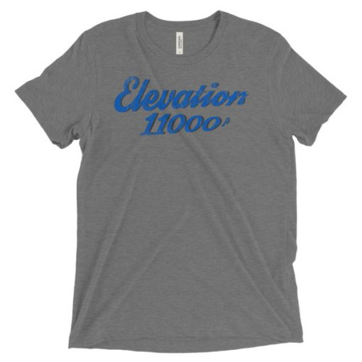 Elevation 11000 Snowbird T-Shirt Grey
