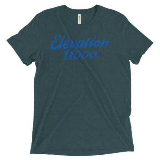 Elevation 11000 Snowbird T-Shirt Emerald