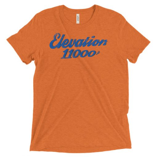 Elevation 11000 Snowbird T-Shirt Orange
