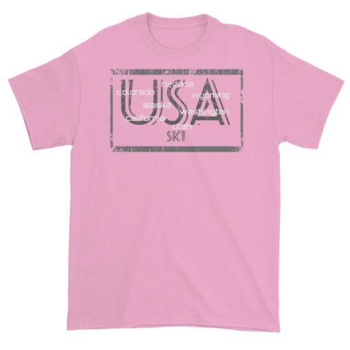USA Ski Light Pink