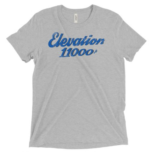 Elevation 11000 Snowbird T-Shirt Athletic Grey