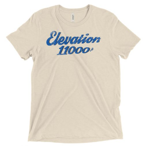 Elevation 11000 Snowbird T-Shirt Oatmeal