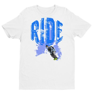 Ride Snowboarding T-Shirt White