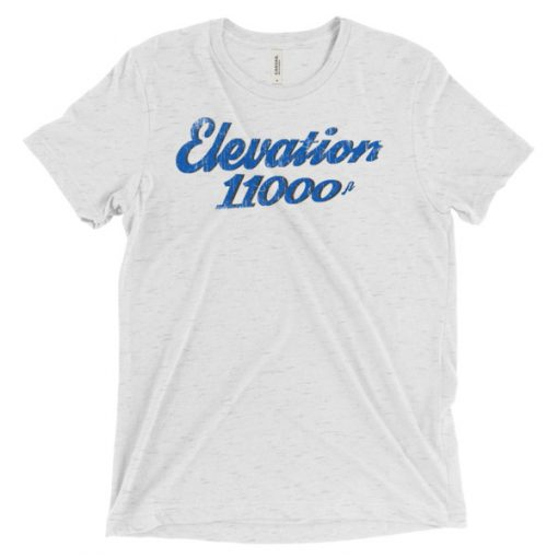 Elevation 11000 Snowbird T-Shirt White Fleck