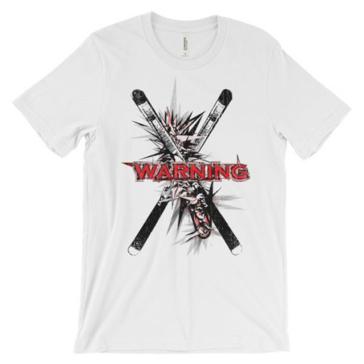 Ski Cross T-Shirt White