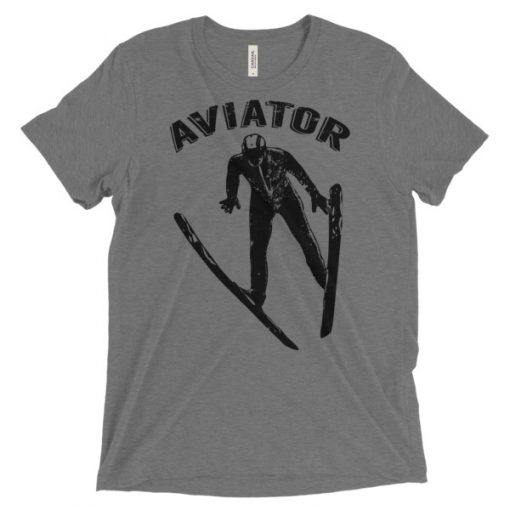 Aviator T-Shirt Grey Triblend