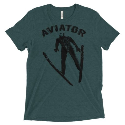 Aviator T-Shirt Emerald Triblend