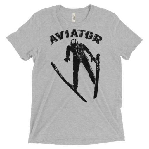 Aviator T-Shirt Athletic Grey Triblend