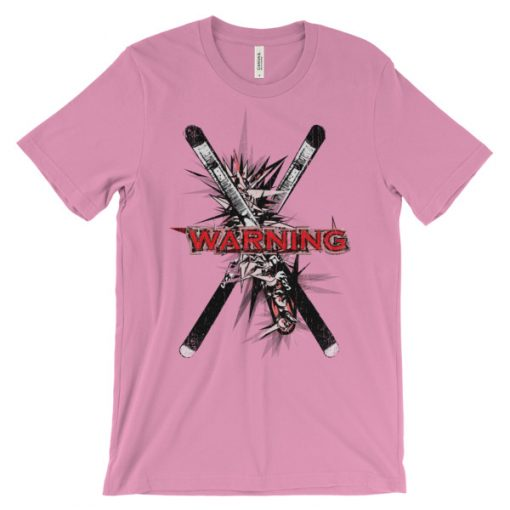 Ski Cross T-Shirt Pink