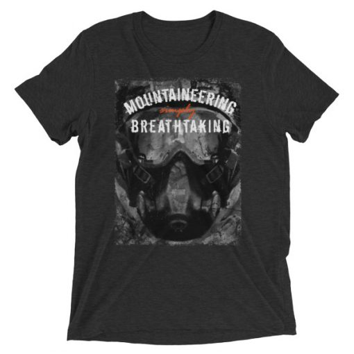 Mountaineering Short Sleeve T-Shirt Charcoal-Black Triblend