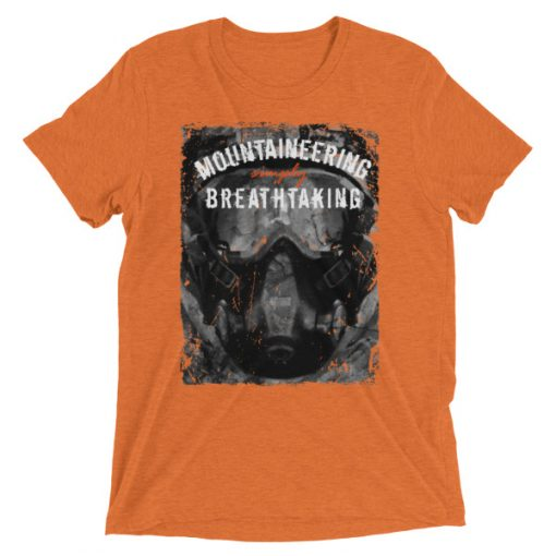 Mountaineering Short Sleeve T-Shirt Orange Triblend