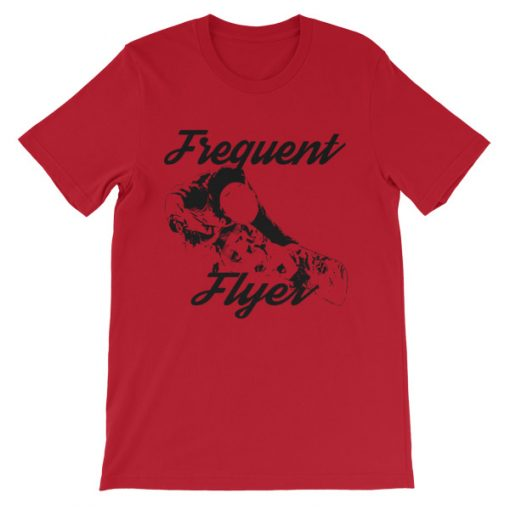 Freestyle Snowboarding T-Shirt Red