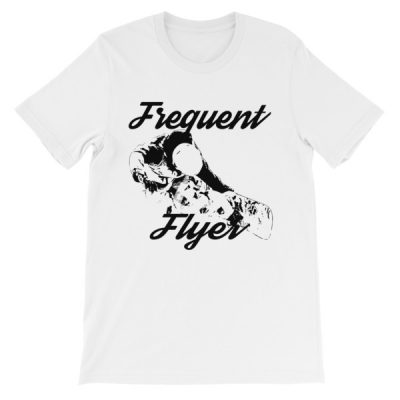 Freestyle Snowboarding T-Shirt White