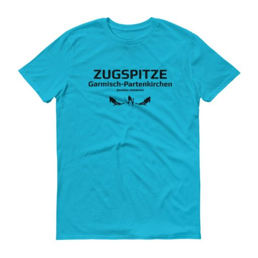 Zugspitze T-Shirt Men's Caribbean Blue