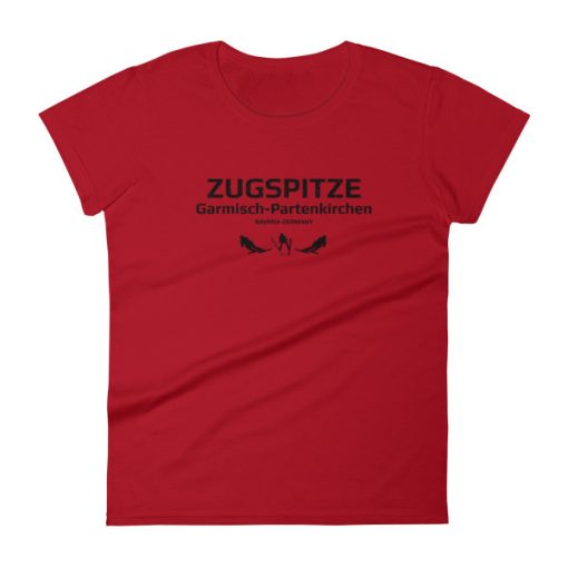 Zugspitze T-Shirt Women's Red