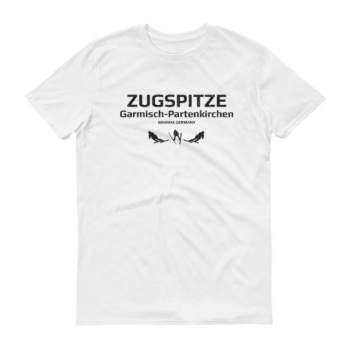 Zugspitze T-Shirt Men's White