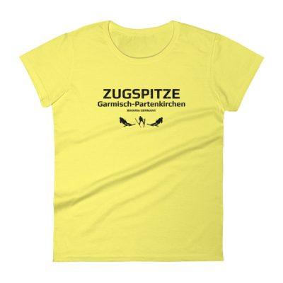 Zugspitze T-Shirt Women's Spring Yellow