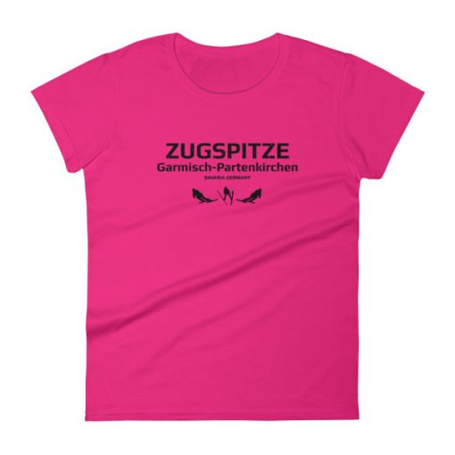 Zugspitze T-Shirt Women's Hot Pink