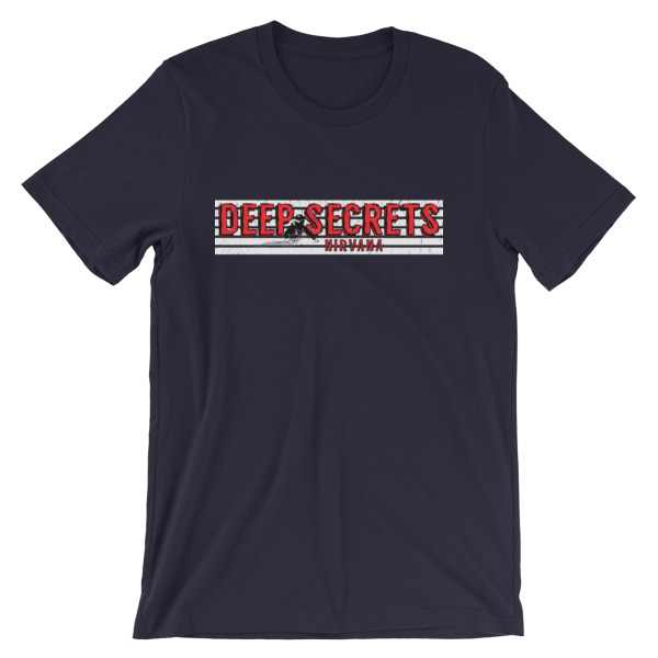 Deep Secrets Ski T-Shirt Navy