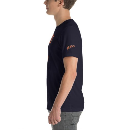 First Tracks Ski & Snowboard T-Shirt Navy
