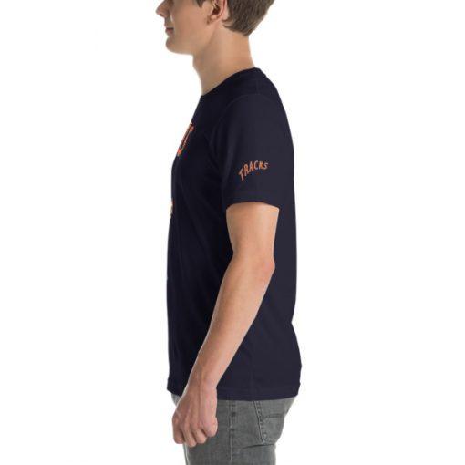 First Tracks Ski & Snowboard T-Shirt Navy