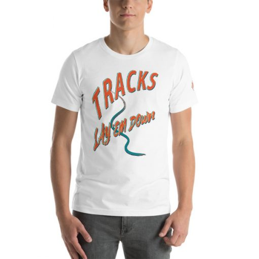 First Tracks Ski & Snowboard T-Shirt White